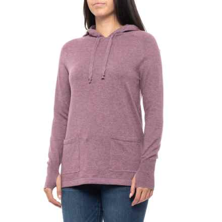 Dakini Hooded Sweater (For Women) in Orchid Heather - Closeouts