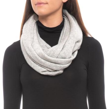 3bc8f4b5e4906 Dakini Recovery Yarn Infinity Scarf (For Women) in Light Heather Grey -  Closeouts