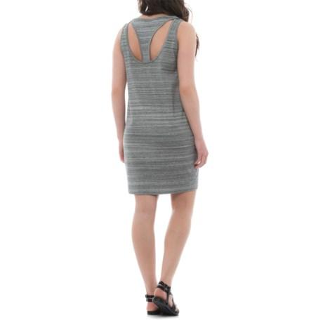 Dakini Space-Dye Tank Dress - Racerback, Sleeveless (For Women) in Grey Space Dye