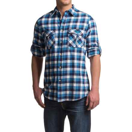 Dakota Grizzly Arlo Flannel Shirt - Long Sleeve (For Men) in Azure - Closeouts