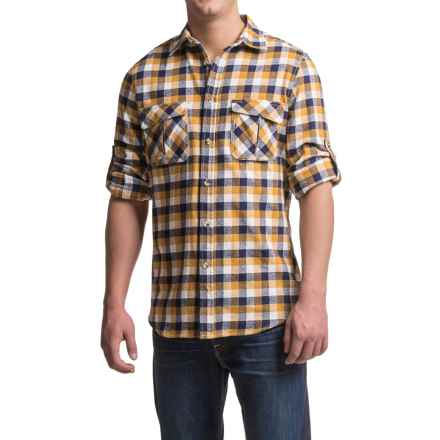 Dakota Grizzly Arlo Flannel Shirt - Long Sleeve (For Men) in Wheat - Closeouts
