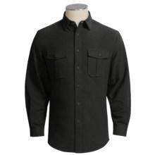 Dakota Grizzly Baxter Shirt - Cotton Chamois, Long Sleeve (For Men) in Black - Closeouts