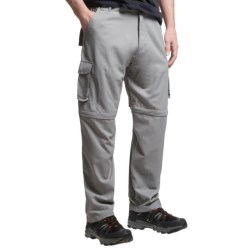 Dakota Grizzly Belted Cargo Pants - Convertible (For Men) in Dolphin
