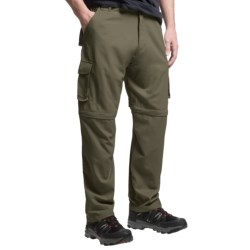 Dakota Grizzly Belted Cargo Pants - Convertible (For Men) in Iguana