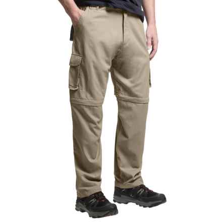 Dakota Grizzly Belted Cargo Pants - Convertible (For Men) in Khaki - Closeouts