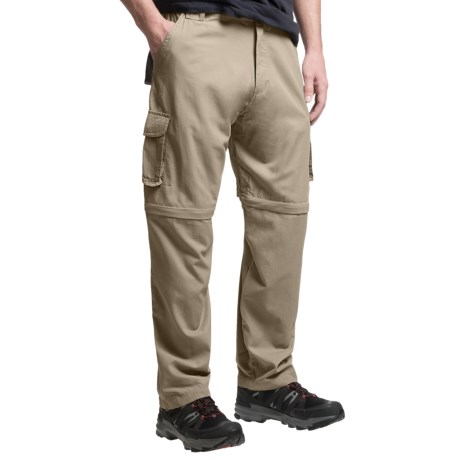 Dakota Grizzly Belted Cargo Pants - Convertible (For Men) in Khaki