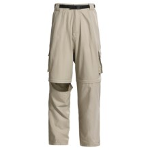 Dakota Grizzly Belted Cargo Pants - Convertible (For Men) in Stone - Closeouts
