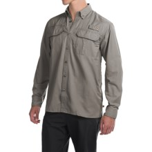 Dakota Grizzly Bingham Shirt - Long Sleeve (For Men) in Dolphin - Closeouts