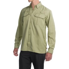 Dakota Grizzly Bingham Shirt - Long Sleeve (For Men) in Kelp - Closeouts