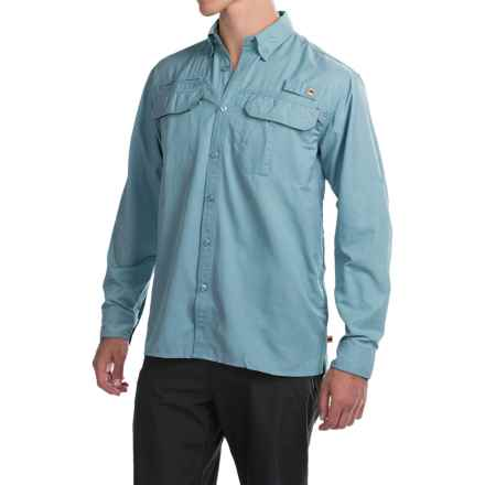 Dakota Grizzly Bingham Shirt - Long Sleeve (For Men) in Sky - Closeouts