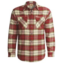 Dakota Grizzly Brawny Shirt - Flannel, Long Sleeve (For Men) in Salsa - Closeouts