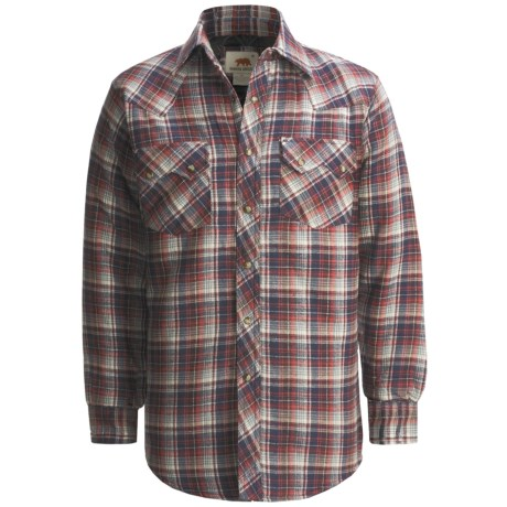 Dakota Grizzly Braxton Flannel Shirt - Long Sleeve (For Men) in Olive