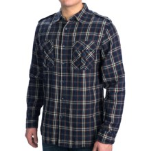 Dakota Grizzly Brewer Shirt - Cotton Gauze, Roll-Up Long Sleeve (For Men) in Dusk - Closeouts