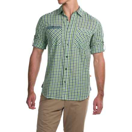 Dakota Grizzly Brock Shirt - Long Sleeve (For Men) in Lime - Closeouts