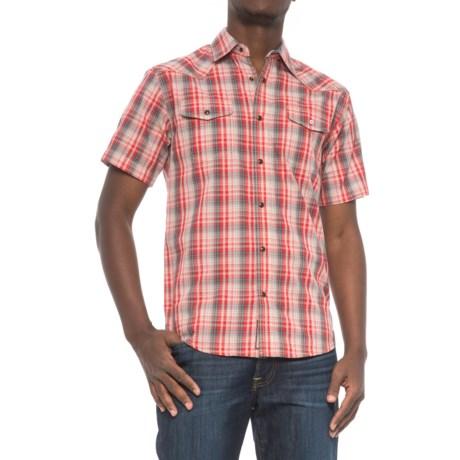 Dakota Grizzly Brodi Shirt - Snap Front, Short Sleeve (For Men) in Blaze