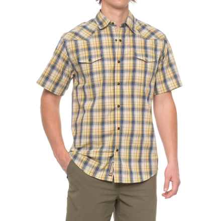 Dakota Grizzly Brodi Shirt - Snap Front, Short Sleeve (For Men) in Citron - Closeouts