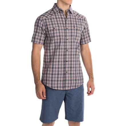 Dakota Grizzly Brodi Shirt - Snap Front, Short Sleeve (For Men) in Rock - Closeouts