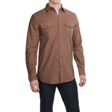 Dakota Grizzly Chet Western Shirt - Long Sleeve (For Men) in Cocoa - Closeouts