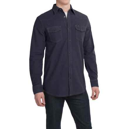 Dakota Grizzly Chet Western Shirt - Long Sleeve (For Men) in Iron - Closeouts