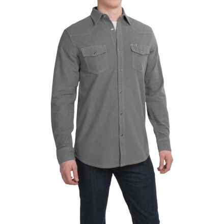 Dakota Grizzly Chet Western Shirt - Long Sleeve (For Men) in Shadow - Closeouts