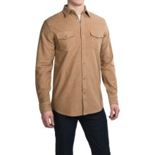 Dakota Grizzly Chet Western Shirt - Long Sleeve (For Men) in Toast - Closeouts