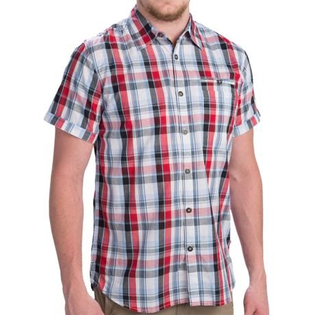 Dakota Grizzly Cody Plaid Shirt - Short Sleeve (For Men) in Apple