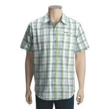 Dakota Grizzly Cody Plaid Shirt - Short Sleeve (For Men) in Lime - Closeouts