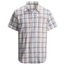 Dakota Grizzly Cody Plaid Shirt - Short Sleeve (For Men) in Tang - Closeouts