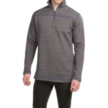 Dakota Grizzly Colton Sweatshirt - Zip Neck (For Men) in Cocoa - Closeouts