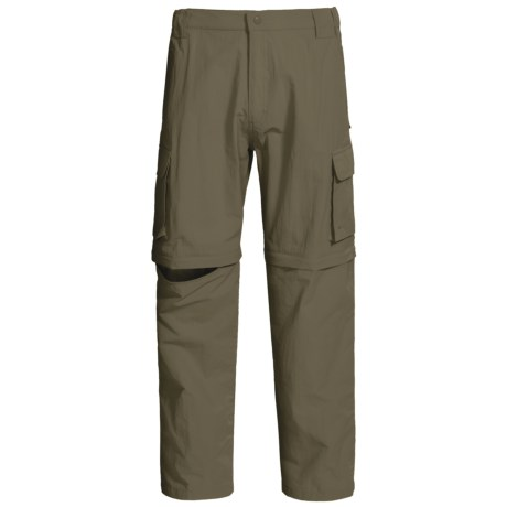Dakota Grizzly Convertible Pants (For Men) in Moss