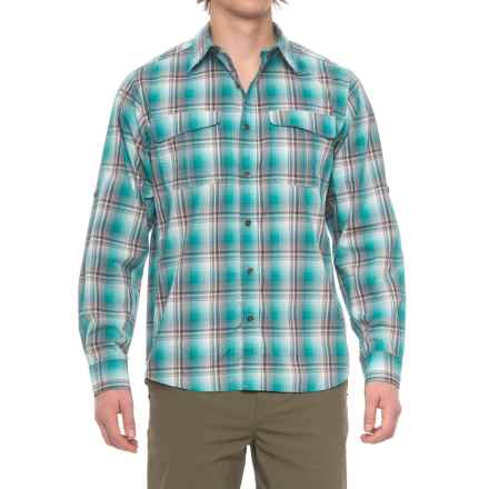Dakota Grizzly Corky Shirt - Long Sleeve (For Men) in Rain - Closeouts