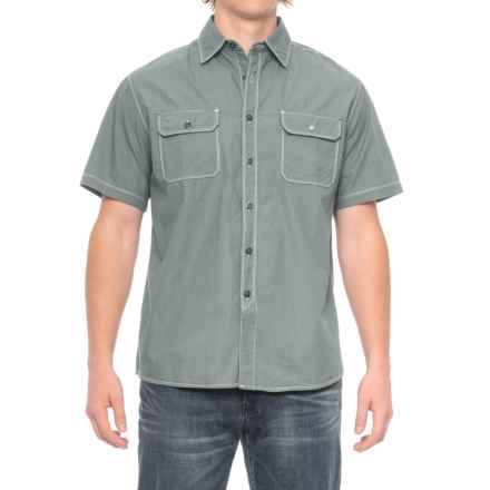 Dakota Grizzly Dean Shirt - Short Sleeve (For Men) in Storm - Closeouts