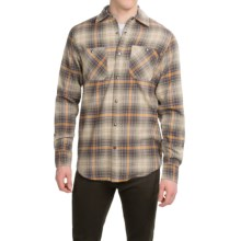 Dakota Grizzly Easton Flannel Shirt - Long Sleeve (For Men) in Willow - Closeouts