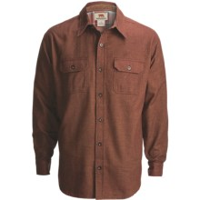 Dakota Grizzly Evan Shirt - Cotton Twill, Long Sleeve (For Men) in Coffee - Closeouts