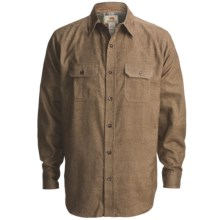 Dakota Grizzly Evan Shirt - Cotton Twill, Long Sleeve (For Men) in Pine - Closeouts