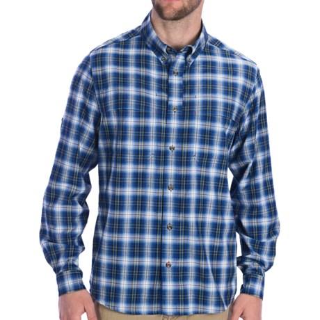 Dakota Grizzly Finley Shirt - Convertible Long Sleeve (For Men) in Ocean
