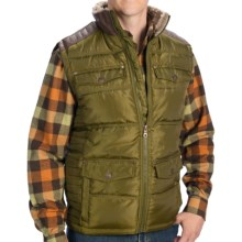 Dakota Grizzly Galt Expedition Vest - Insulated (For Men) in Boa - Closeouts