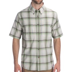 Dakota Grizzly Gavin Shirt - Short Sleeve (For Men) in Kiwi