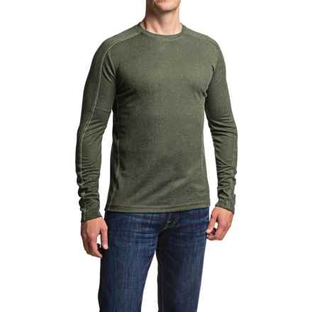 Dakota Grizzly Grif Crew Neck Shirt - Long Sleeve (For Men) in Kale - Closeouts