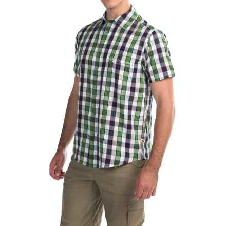 Dakota Grizzly Harley Shirt - Snap Front, Short Sleeve (For Men) in Lime - Closeouts