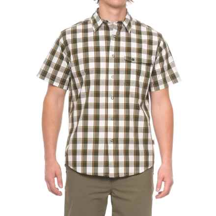 Dakota Grizzly Harley Shirt - Snap Front, Short Sleeve (For Men) in Marsh - Closeouts