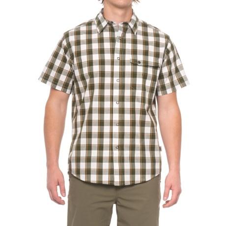 Dakota Grizzly Harley Shirt - Snap Front, Short Sleeve (For Men) in Marsh