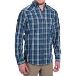 Dakota Grizzly Harper Shirt - Long Sleeve (For Men) in Aqua