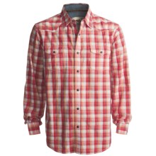 Dakota Grizzly Harper Shirt - Long Sleeve (For Men) in Coral - Closeouts