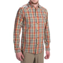 Dakota Grizzly Harper Shirt - Long Sleeve (For Men) in Picante - Closeouts