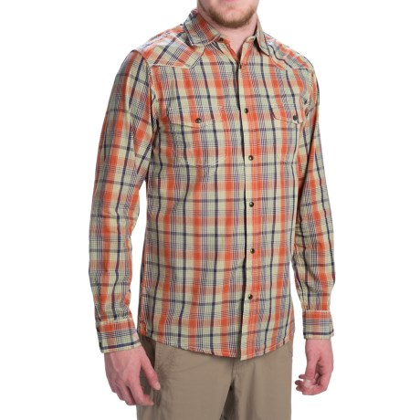 Dakota Grizzly Harper Shirt - Long Sleeve (For Men) in Picante