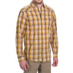Dakota Grizzly Harper Shirt - Long Sleeve (For Men) in Whiskey
