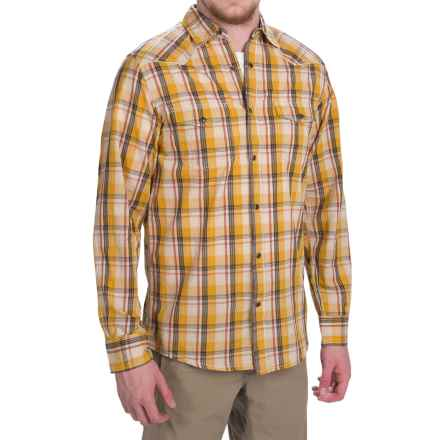 Dakota Grizzly Harper Shirt - Long Sleeve (For Men) in Whiskey - Closeouts