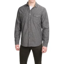 Dakota Grizzly Hendrix Flannel-Lined Shirt - Long Sleeve (For Men) in Rifle - Closeouts