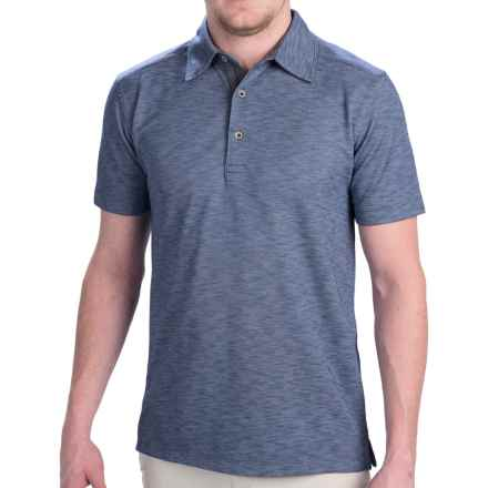 Dakota Grizzly Hugo Polo Shirt - Short Sleeve (For Men) in Petrol - Closeouts